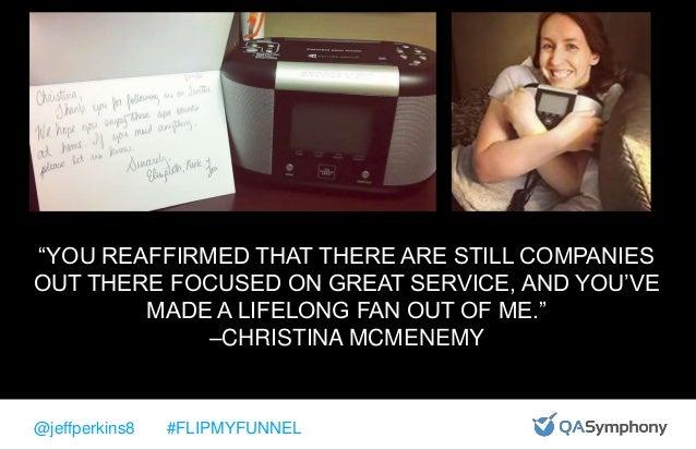 The Customer Experience Problem - FlipMyFunnel Meetup - Sept 28th