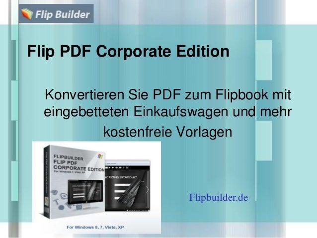 Flip PDF Corporate Edition Konvertieren Sie PDF zum Flipbook mit eingebetteten Einkaufswagen und mehr kostenfreie Vorlagen...
