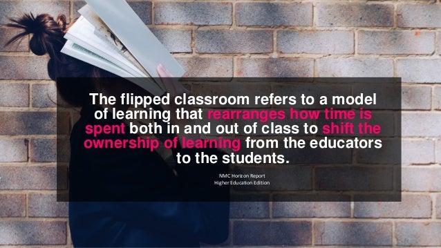 Flipped learning Slide 3