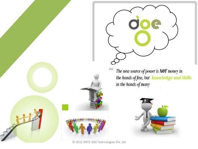 © 2012 ANTZ AGE Technologies Pvt. Ltd