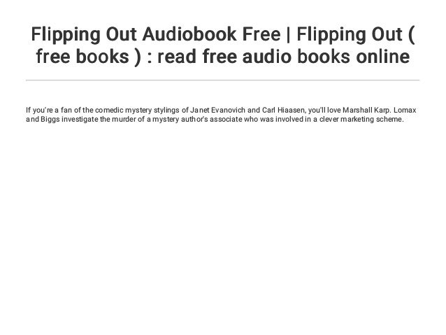 Flipping Out Audiobook Free Flipping Out Free Books Read Fre