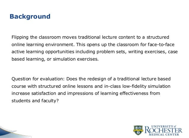 Flipping the classroom in nursing education