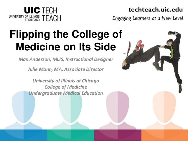 Flipping the College of  Medicine on Its Side  Max Anderson, MLIS, Instructional Designer  Julie Mann, MA, Associate Direc...
