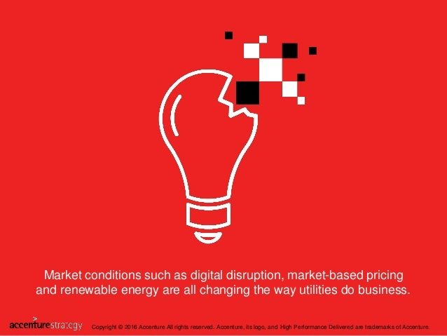 Market conditions such as digital disruption, market-based pricing and renewable energy are all changing the way utilities...