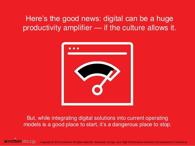 But, while integrating digital solutions into current operating models is a good place to start, it's a dangerous place to...
