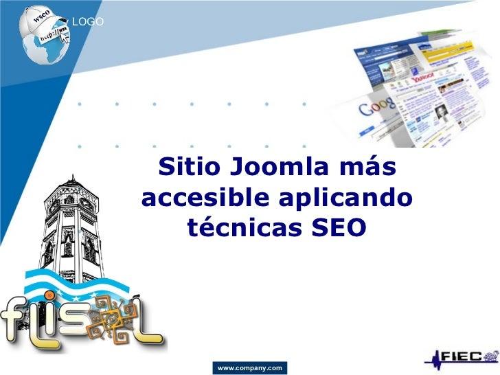 Sitio Joomla más accesible aplicando técnicas SEO