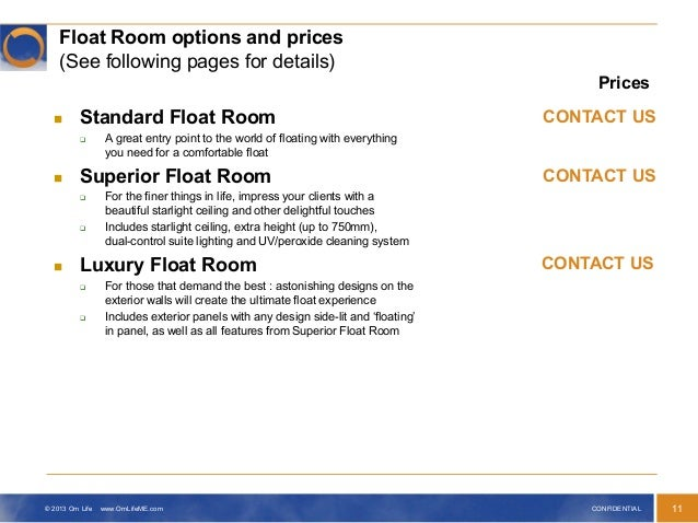 Luxury custom made float rooms soften your skin relax for Stress skin panels cost