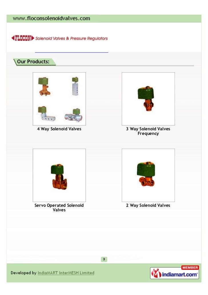 Precision Instruments Co, Mumbai, 4 Way Solenoid Valves Slide 3