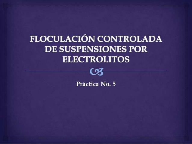 Práctica No. 5