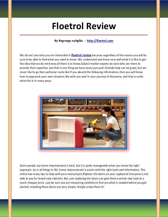 Floetrol Review_____________________________________________________________________________________                      ...