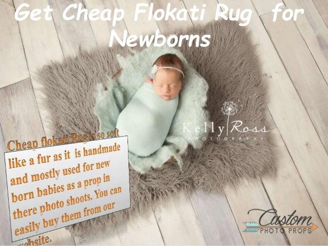 Get cheap flokati rug for newborns