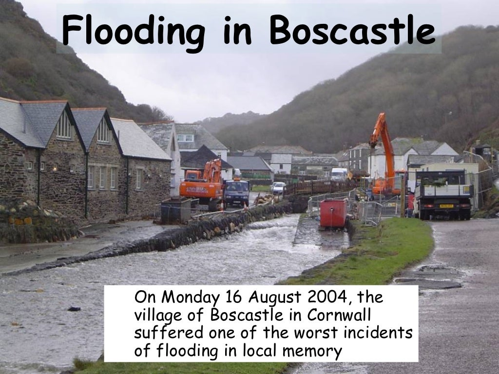 Boscastle Flood 2004