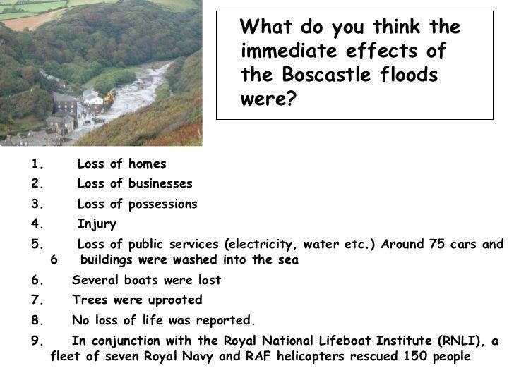 boscastle flood case study facts