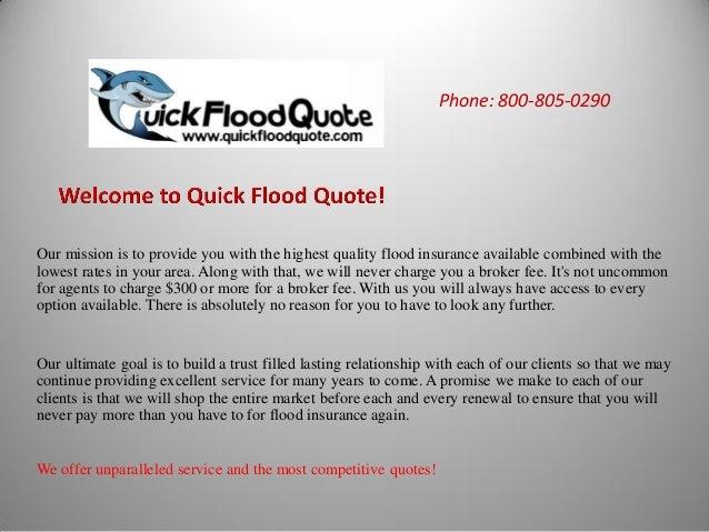 Flood Insurance Quote | Flood Insurance Quote San Francisco