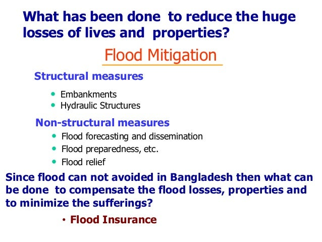 the different methods of flood prevention How to control erosion  there are different ways to control erosions depending on the terrain and the  methods to enrich whatever soil is present are also.