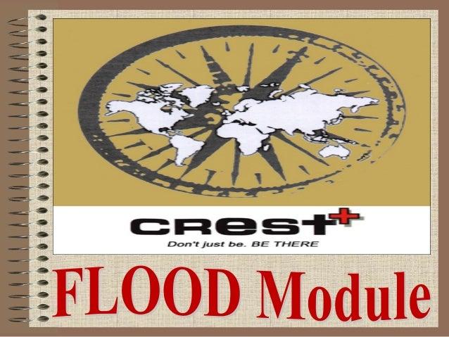 TBC CREST North Flood Relief Module 2014 Slide 2