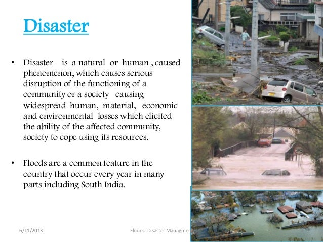 importance of being informed about natural disasters essay Chapter also offers areas of communication studies inquiry that have informed the and the importance of narratives in disasters include natural disasters.