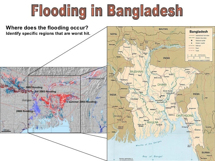 bangladesh floods 1998 The 1998 floods in bangladesh appeared to be qualitatively different from major floods in the previous 20 years, because of the length of the flood period, which was about 10 weeks whether the extended length of the flooding is a one-off phenomenon is impossible to predict.