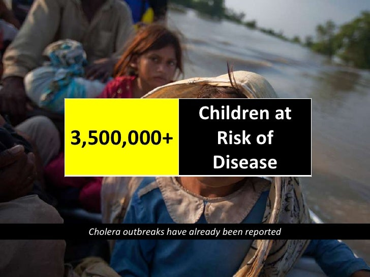 Cholera outbreaks have already been reported<br />