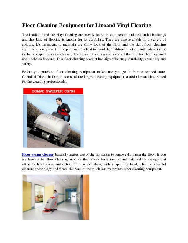 Floor Cleaning Equipment For Linoleum And Vinyl Flooring Edt - Professional linoleum floor cleaning