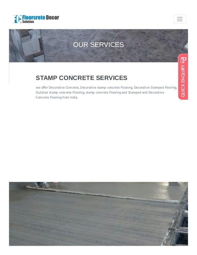 Your Floor Our Solution Floorcretedecorsolution Com