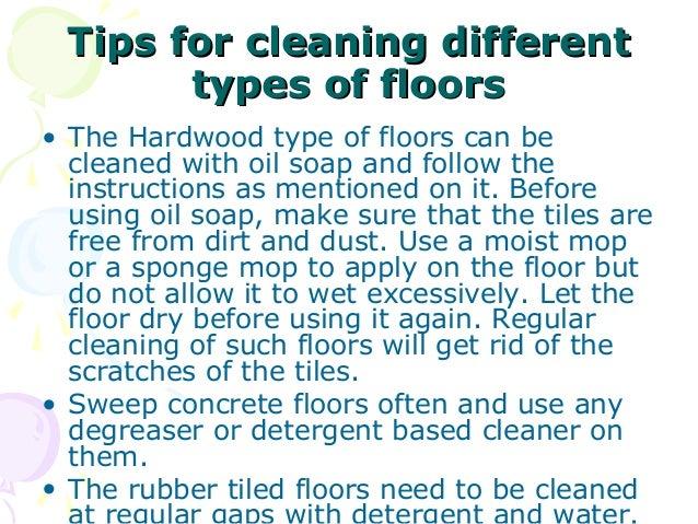 Floor Covering In Housekeeping
