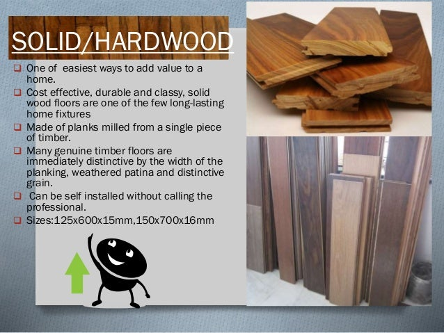 ENGINEERED  most common type of wood flooring used  globally.  composed of two or more layers of wood in the form of a p...