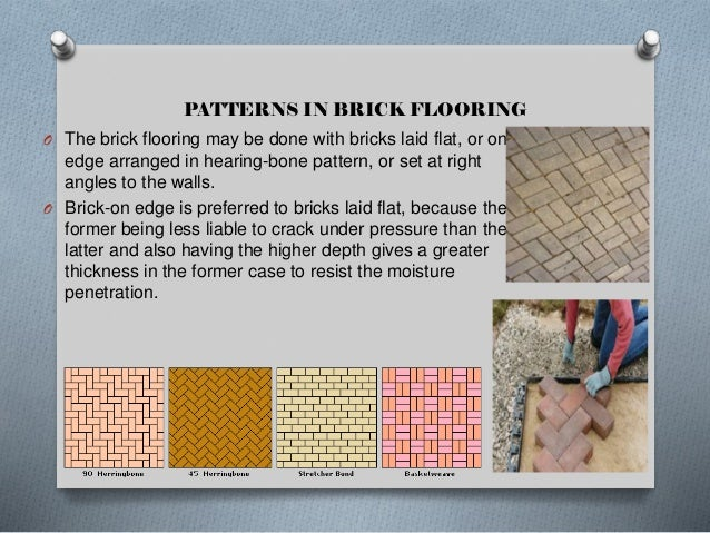 CHARACTERISTICS The low maintenance requirements of brick flooring make it very popular in kitchens. Durability: Brick is ...