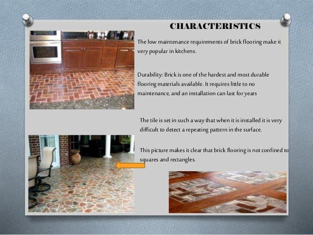 Promenade Brick Flooring Pattern on a Porch Other properties  Color Texture Heat Slip Resistant  Hardness  Replacem ent ...