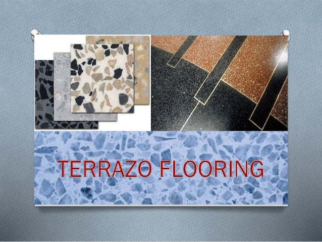 TERRAZO FLOORING`   Terrazzo is a flooring material traditionally made by exposing marble chips on the surface of concret...