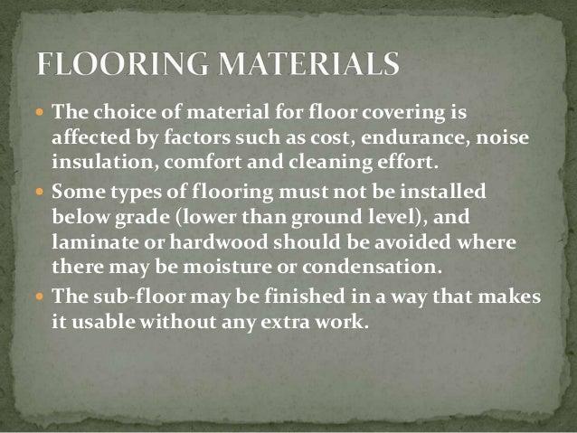 Types of flooring materials pdf gurus floor for Types of flooring materials