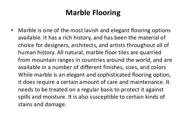 Flooring - Coefficient of friction flooring