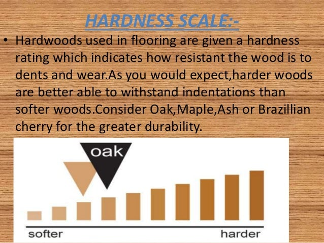 Wood Hardness Scale Permalink To Hardness Of Wood