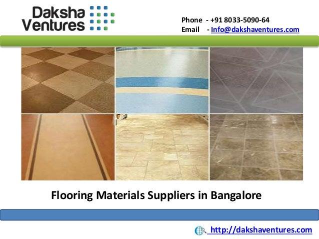 Flooring Materials Supplies : Flooring materials suppliers in bangalore india