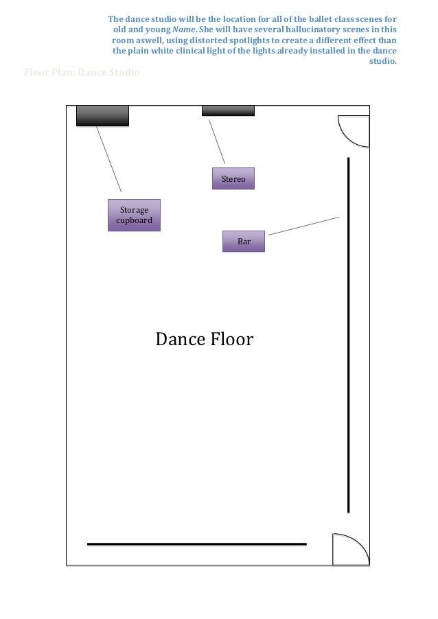 Floor Plan Dance Studio