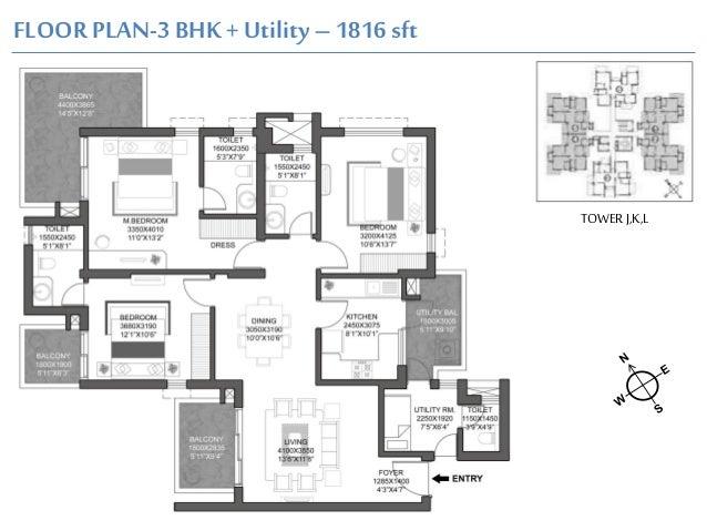 Floor Plans Of Godrej Signature Homes Sector 104 Gurgaon