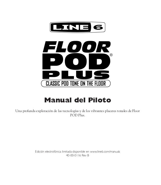 Floor pod plus user manual spanish ( rev b )