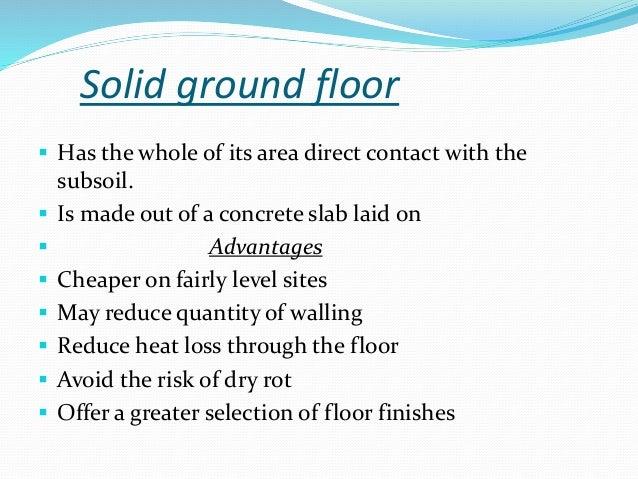 Advantages of solid concrete ground floor wikizie