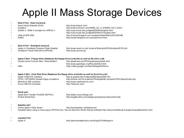 Apple II Floppy disk emulation explained by example Slide 2