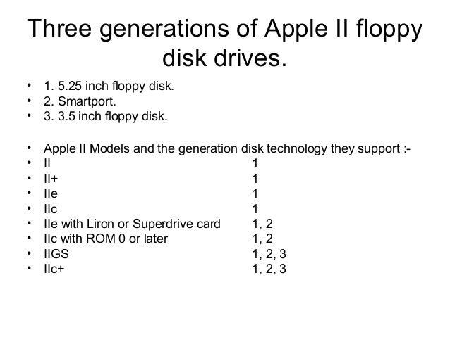 Apple II Floppy disk emulation explained by example Slide 3