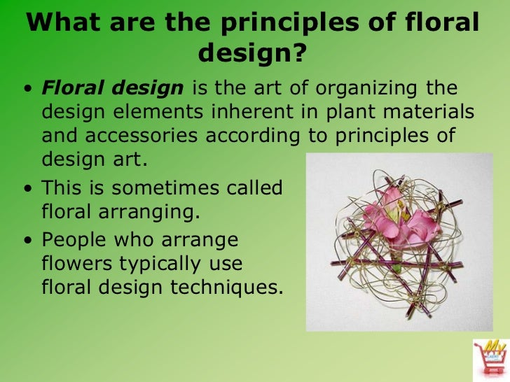 Basic Design Principles In Art : Introduction to floral design