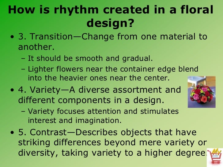 Introduction to floral design for Rhythm by transition