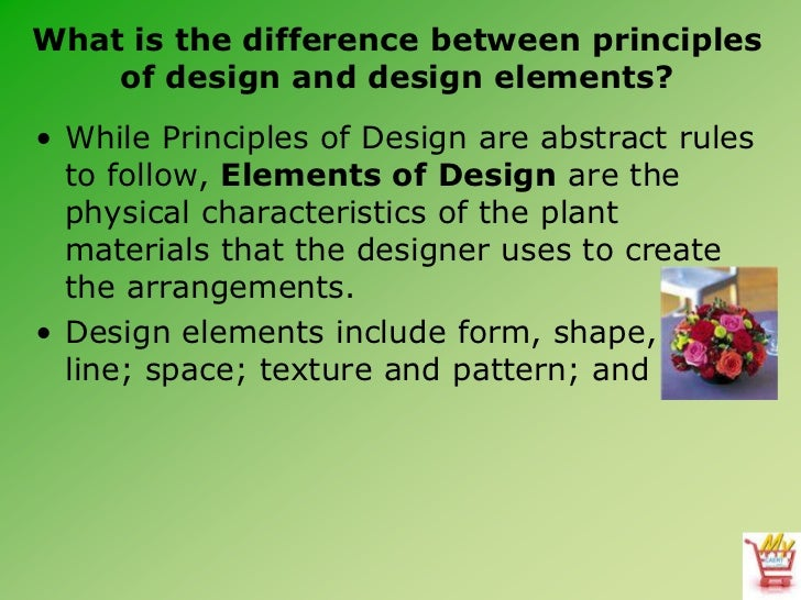 What Is Art And Design : Introduction to floral design