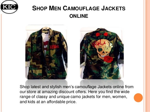 Gucci Patches Camouflage Jackets | Buy Men Custom Denim