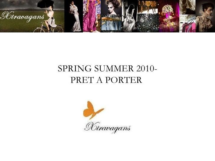 SPRING SUMMER 2010- FLORAL PRINT SPECIAL