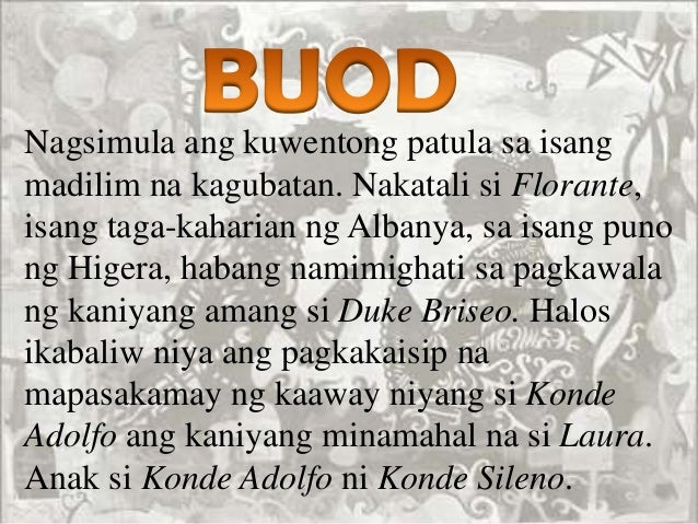 Florante At Laura Pdf