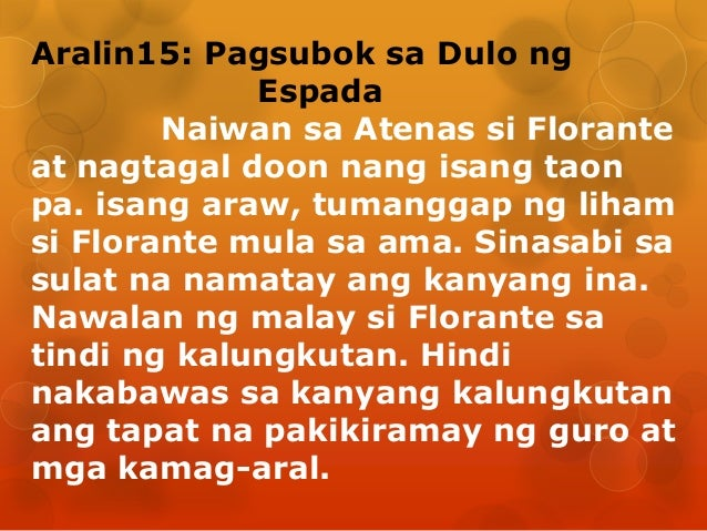 Atenas Florante At Laura