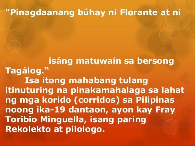Hookup pamagat ng florante at laura