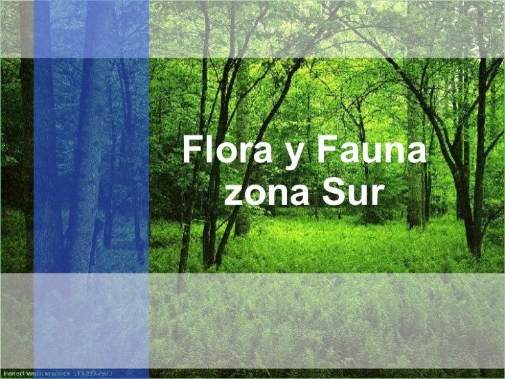 Flora y fauna de chile final for Poda de arboles zona sur