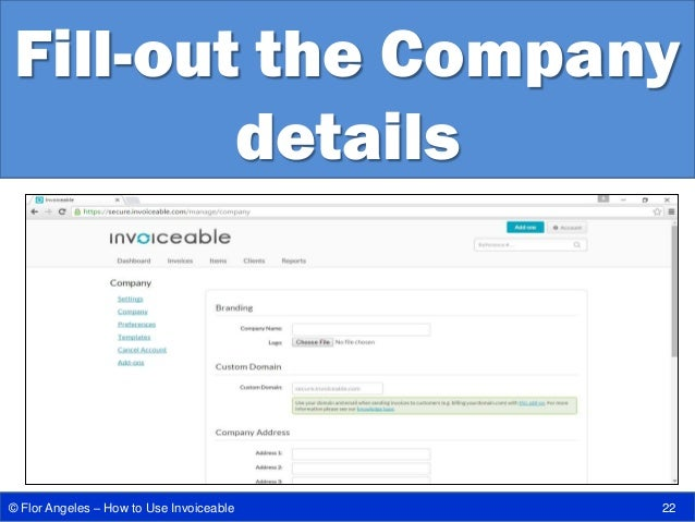 How To Use Invoiceable: Your Online Invoice Processing Tool